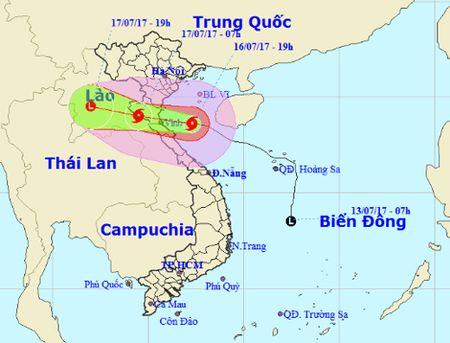 Bao so 2 di theo huong Tay tu Thanh Hoa den Ha Tinh, gio giat cap 11-12 - Anh 1