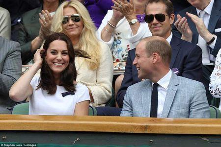 Wimbledon: Hoang gia Anh va dan VIP khung xem Federer - Cilic - Anh 1