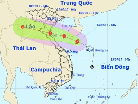 Bao so 2 tang cap, tien thang vao Thanh Hoa - Ha Tinh - Anh 1