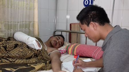 Gia Lai: Khoi to doi tuong chem Pho truong cong an xa Ia Nam - Anh 1
