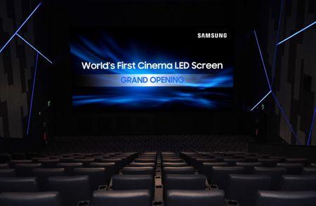 Samsung muon thay the may chieu phim bang man hinh 4K dai 10 met - Anh 1