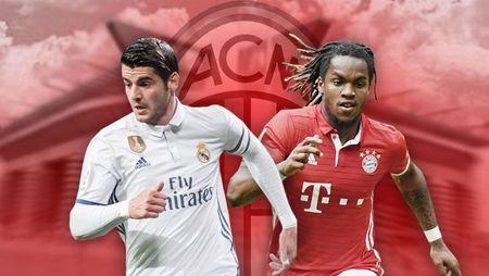 Sep lon Milan chinh thuc len tieng ve Morata va Sanches - Anh 1