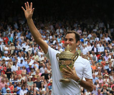Danh bai Cilic, Federer vo dich Wimbledon lan thu 8 - Anh 2