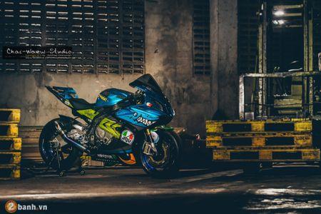 Sieu mo to BMW S1000RR 'ca map' do khung tai Thai Lan - Anh 1