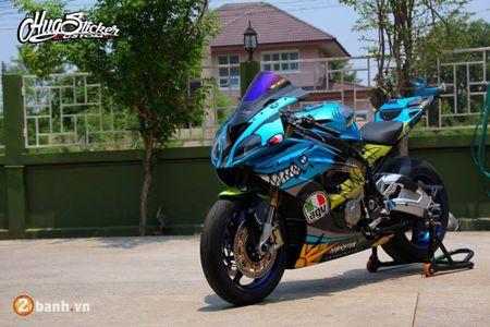 Sieu mo to BMW S1000RR 'ca map' do khung tai Thai Lan - Anh 5