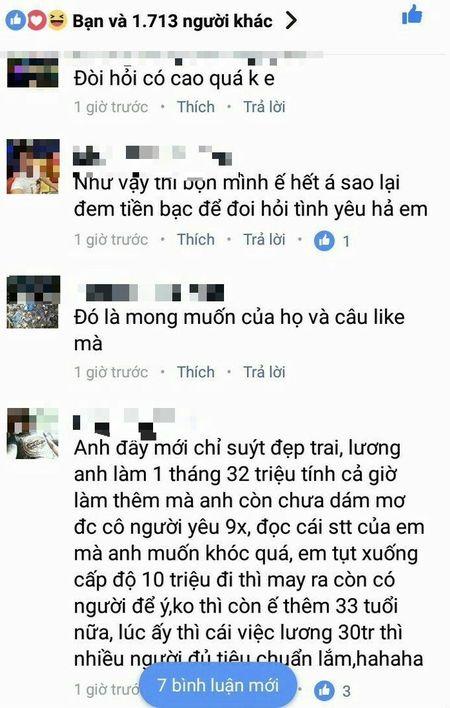 Tuyen nguoi yeu co muc luong hon 30 trieu/ thang, gai e 'hung gach' vi thuc dung va chanh choe - Anh 4