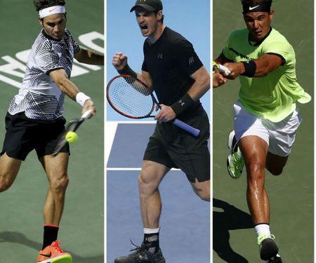 Dua so 1 the gioi nam 2017: Federer de doa Murray, Nadal - Anh 2
