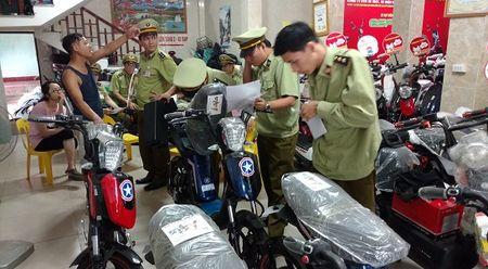 Bo Cong Thuong vao cuoc vu lam gia xe dien PEGA, tich thu 30 xe - Anh 1