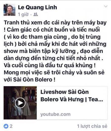 Dan sao Viet hao huc cho doi liveshow bolero hoanh trang cua Dam Vinh Hung - Anh 2