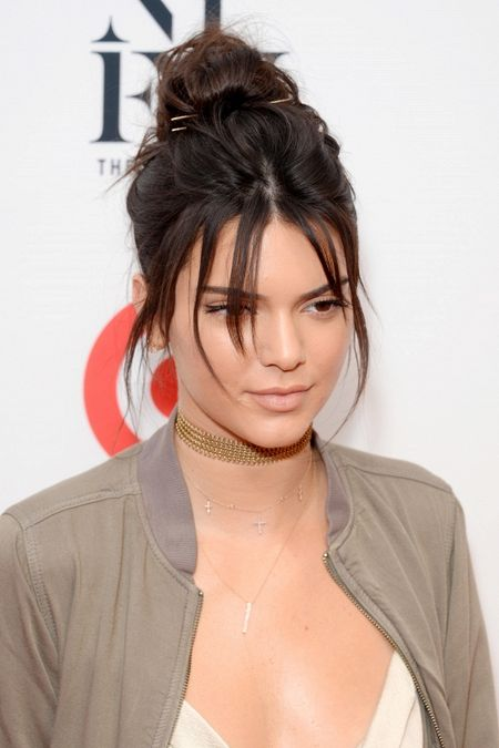 Lam chung 1 kieu toc, Kendall Jenner - Huyen My khien fan dau dau vi khong biet ai dep hon - Anh 4