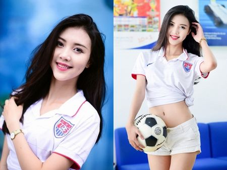 Tham gia phut chot, 'nguoi yeu Son Tung' Vu Ngoc Cham vuon len dan dau vong binh chon The Look Online 2017 - Anh 5