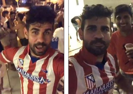 Diego Costa treu nguoi thay cu Conte bang 'cai om... xa giao' - Anh 1
