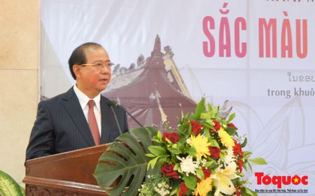 Khai mac trong the Nhung ngay Van hoa, Du lich Viet Nam tai Lao - Anh 8