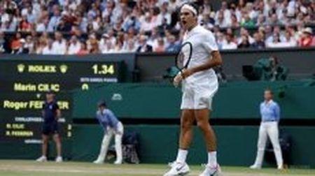Federer di vao lich su voi chuc vo dich Wimbledon thu tam - Anh 1