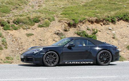 Hinh anh dau tien cua Porsche 911 mui tran tren duong chay thu - Anh 2