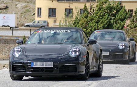 Hinh anh dau tien cua Porsche 911 mui tran tren duong chay thu - Anh 3