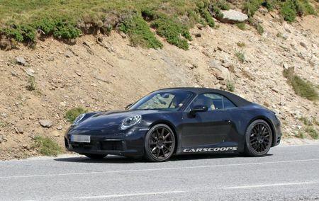 Hinh anh dau tien cua Porsche 911 mui tran tren duong chay thu - Anh 4
