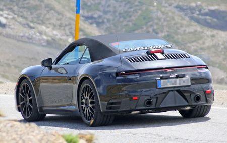 Hinh anh dau tien cua Porsche 911 mui tran tren duong chay thu - Anh 7