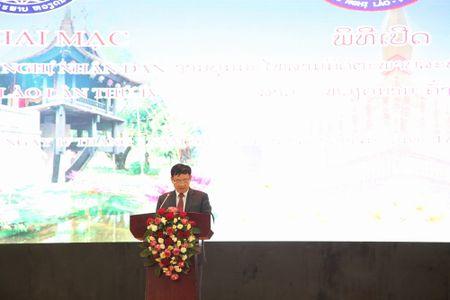 Khai mac Lien hoan Huu nghi Nhan dan Lao-Viet Nam lan thu 4 - Anh 1