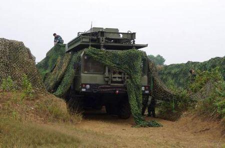 Viet Nam san xuat luoi nguy trang chong radar - Anh 1