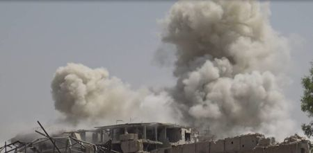 Dai thang, quan Syria hung huc khi the chien dau o Damascus - Anh 11