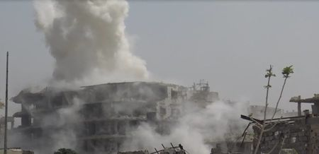 Dai thang, quan Syria hung huc khi the chien dau o Damascus - Anh 4