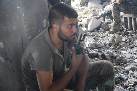 Dai thang, quan Syria hung huc khi the chien dau o Damascus - Anh 9
