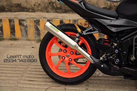 Tho Viet do Honda NSR150 thanh moto Kawasaki tien ty - Anh 6