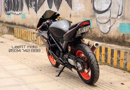 Tho Viet do Honda NSR150 thanh moto Kawasaki tien ty - Anh 7