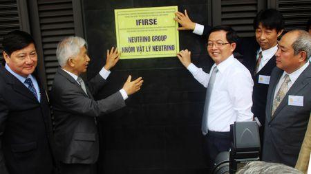 Thanh lap Nhom Vat ly Neutrino Viet Nam - Anh 3