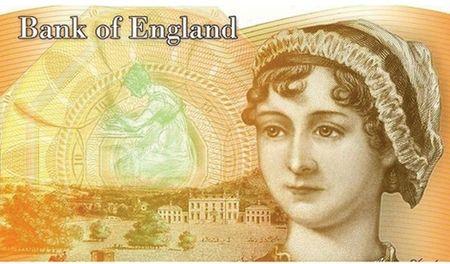 Phat hanh to tien in hinh nu van si Jane Austen - Anh 1