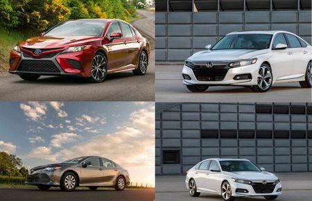 Cuoc doi dau 'dam mau' cua hai nguoi dong huong Nhat Ban: Honda Accord 2018 va Toyota Camry 2018 - Anh 1