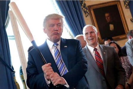 Tong thong Trump the bao ve san pham 'Made in America' - Anh 1
