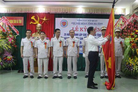Hai quan Ha Tinh vinh du don nhan Huan chuong Lao dong hang Nhi - Anh 1