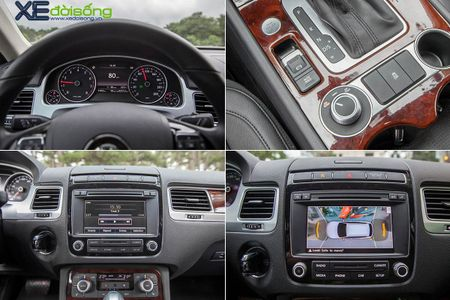 Danh gia SUV sang VW Touareg: kho co the che dang cap xe Duc! - Anh 19