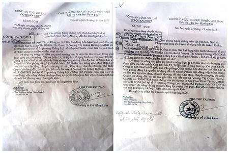 Gia Lai: Hai van ban de nghi tam dung chuyen nhuong, cho tang tai san va QSDD co nhieu nghi van??? - Anh 1
