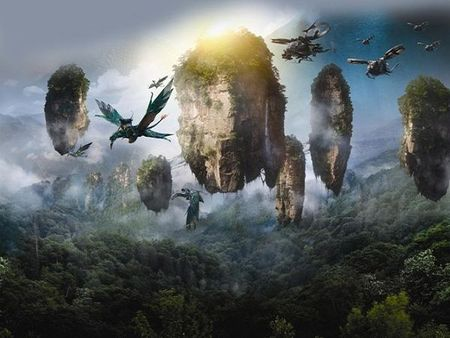 Chinh phuc nui bay co that trong sieu pham 'Avatar' - Anh 2