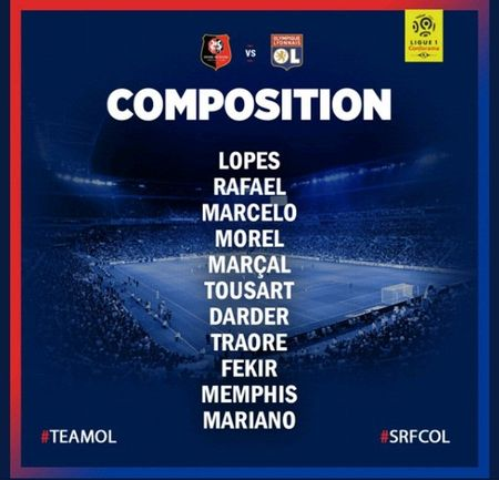 Rennes 1-2 Lyon: Show dien cua Depay va Mariano - Anh 1