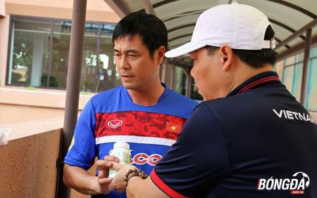 Ren the luc, BHL U22 Viet Nam san sang chien SEA Games 29 - Anh 3