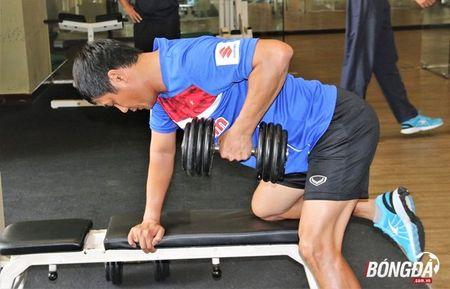 Ren the luc, BHL U22 Viet Nam san sang chien SEA Games 29 - Anh 8