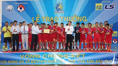 Chung ket U15 VDQG: Giot nuoc mat tiec nuoi cua nhung ' Hau due The Cong' - Anh 10