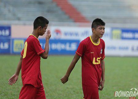 Chung ket U15 VDQG: Giot nuoc mat tiec nuoi cua nhung ' Hau due The Cong' - Anh 5