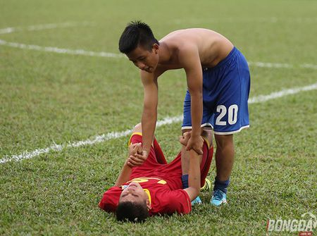 Chung ket U15 VDQG: Giot nuoc mat tiec nuoi cua nhung ' Hau due The Cong' - Anh 7