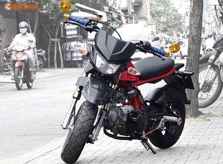 Dan choi Sai Gon do 'xe lun' Honda minibike kich doc - Anh 1