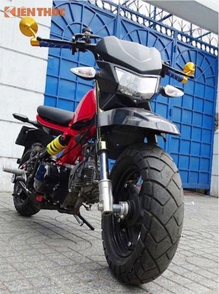 Dan choi Sai Gon do 'xe lun' Honda minibike kich doc - Anh 2