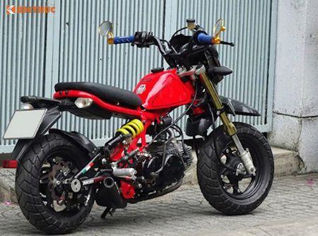 Dan choi Sai Gon do 'xe lun' Honda minibike kich doc - Anh 5