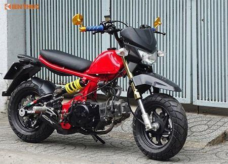 Dan choi Sai Gon do 'xe lun' Honda minibike kich doc - Anh 8