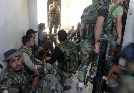 Quan doi Syria giai phong loat khu vuc trong yeu o Sweida - Anh 10
