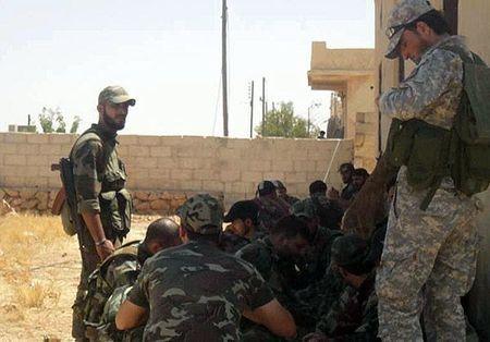 Quan doi Syria giai phong loat khu vuc trong yeu o Sweida - Anh 2