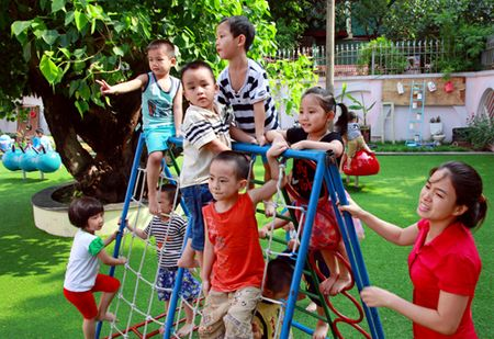 Giao duc Thu do: Buoc chuyen manh ca ve luong va chat - Anh 1